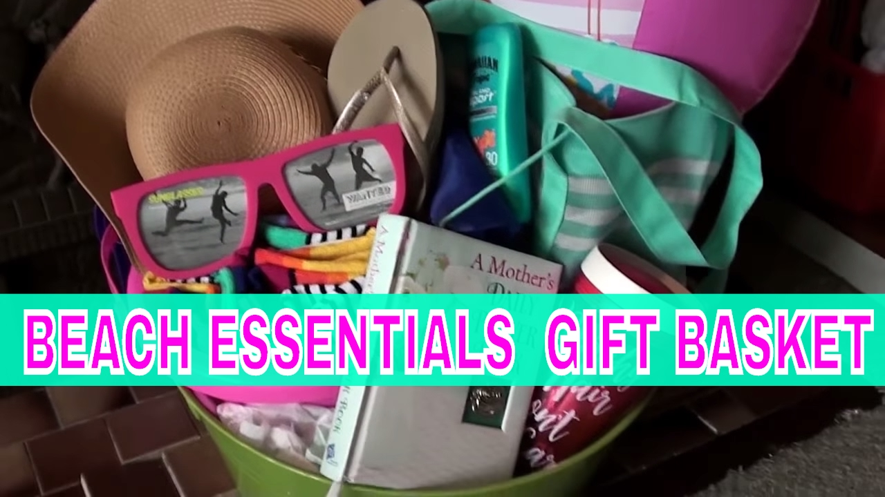 mothers day beach bundle essentials gift basket idea