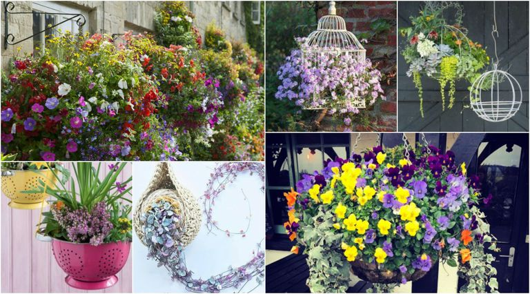 mothers day gorgeous hanging baskets gift ideas 2018