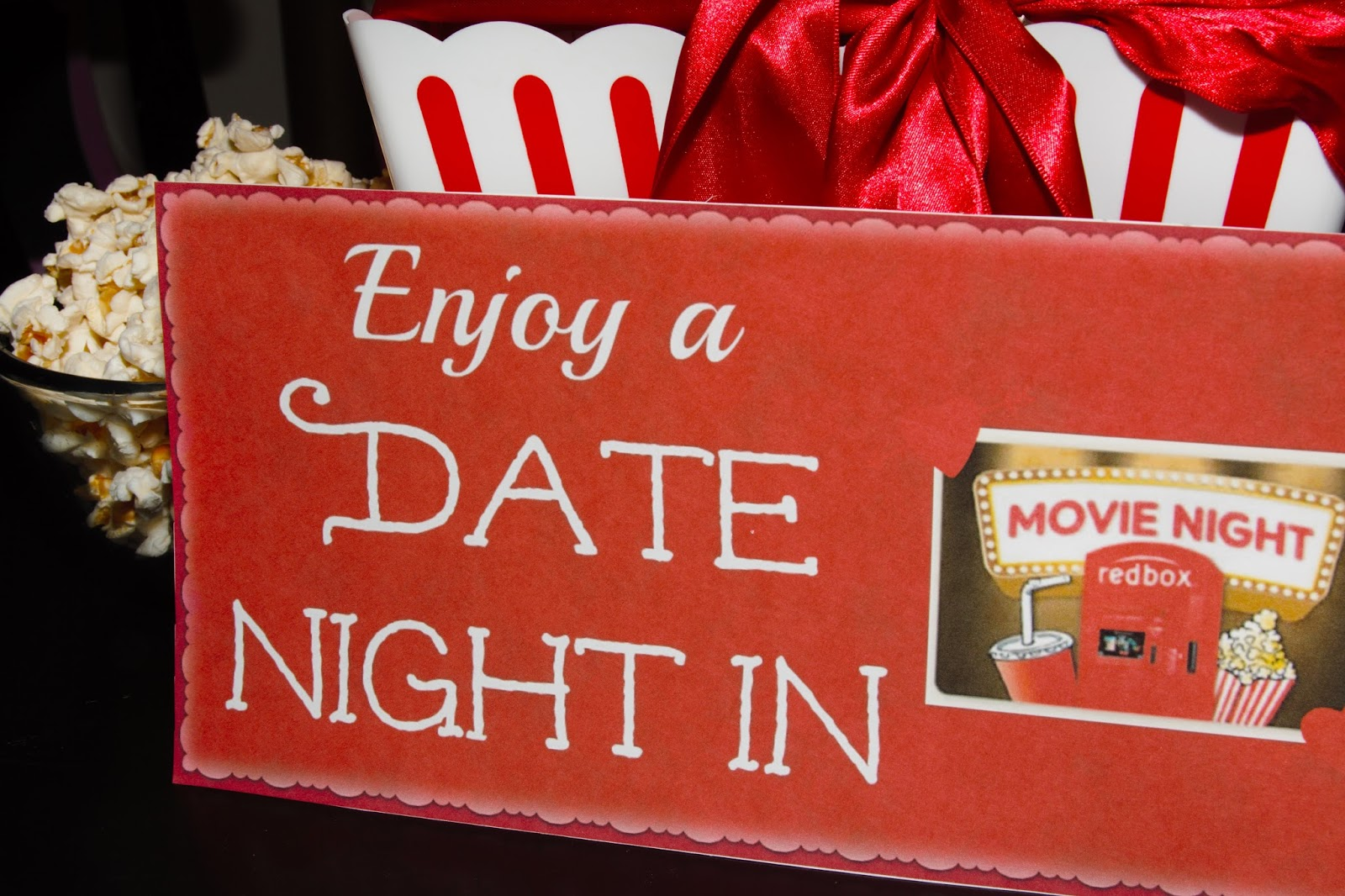 mothers day movie night gift basket idea 2018
