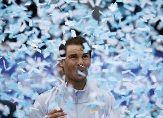 rafael nadal soccer controversy novak djokovic beats nishikori at madrid open 2018 images