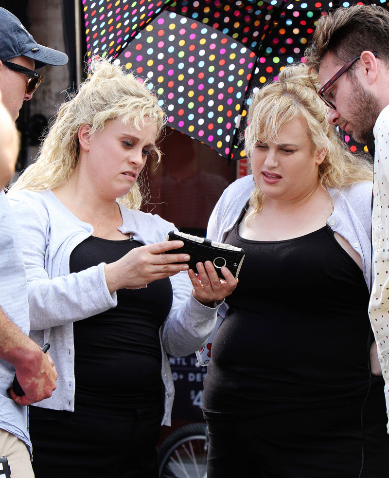rebel wilson stunt double isnt it romantic movie