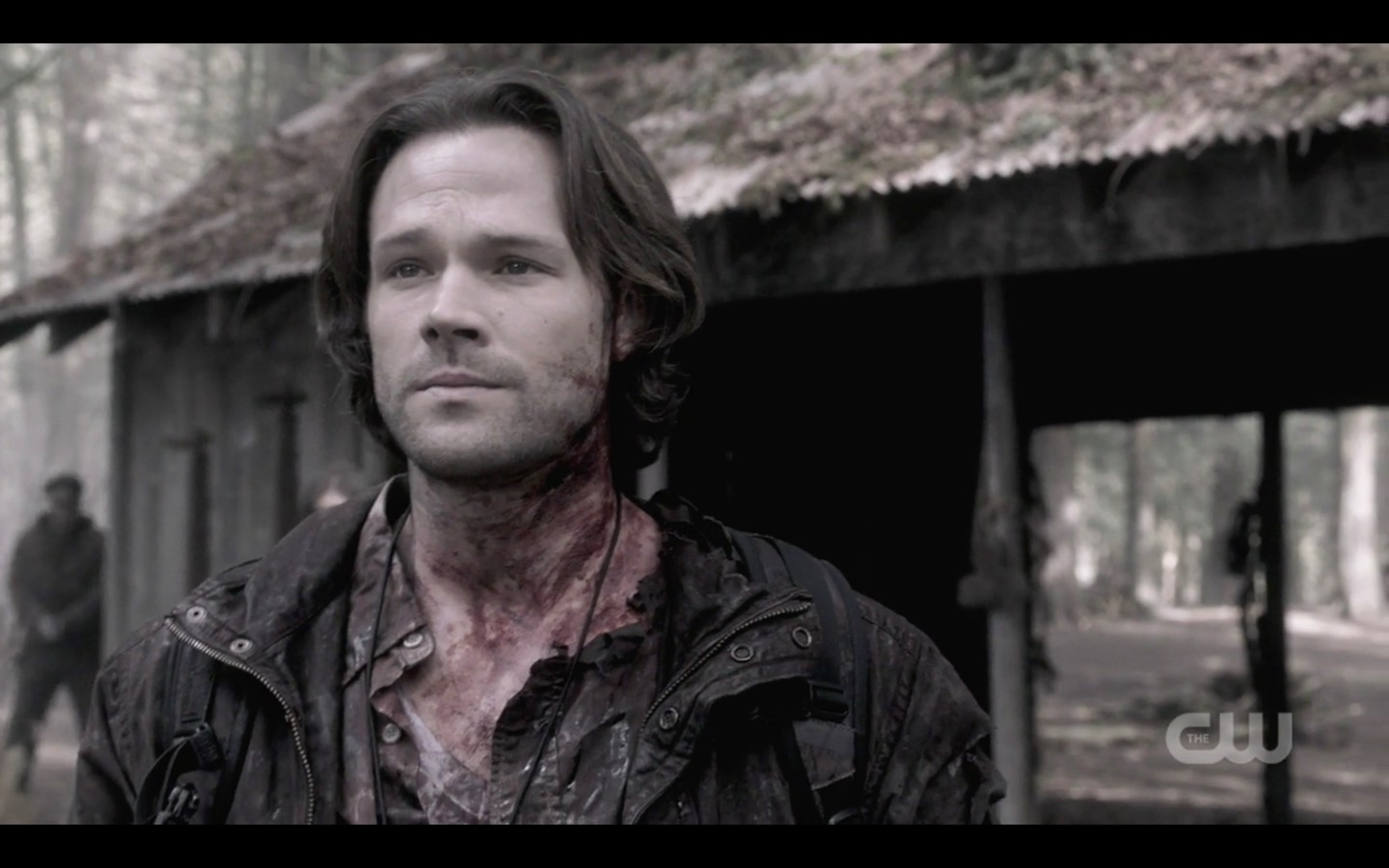 sam winchester almost smile with jack lucifer
