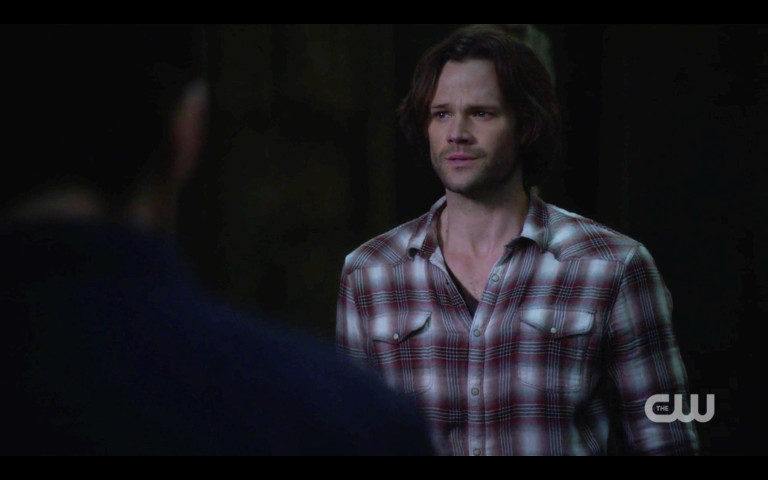 sam winchester sad that jack and lucifer are in supernatural