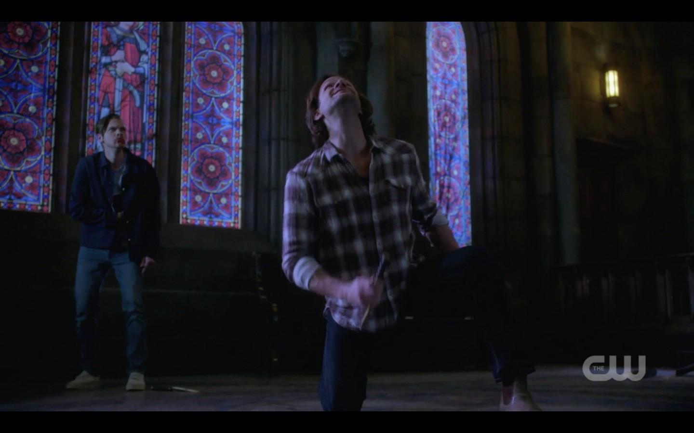 sam winchester screams for brother dean supernatural finale
