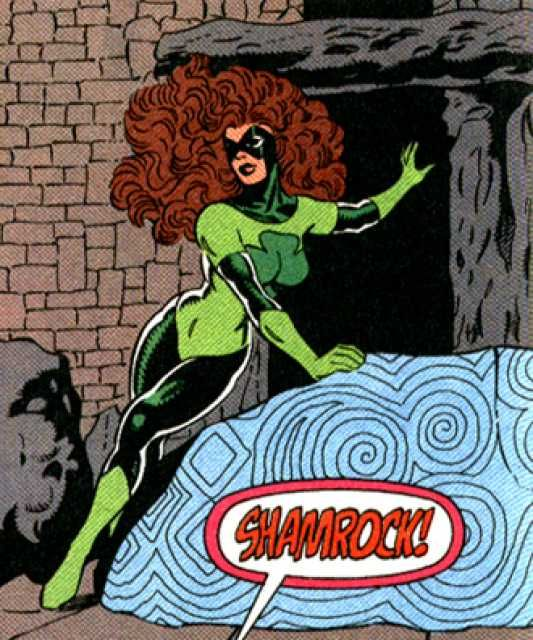 shamrock molly fitzgerald luck based marvel superheroes