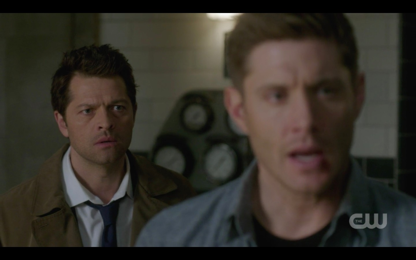 supernatural castiel begs dean winchester not to react finale