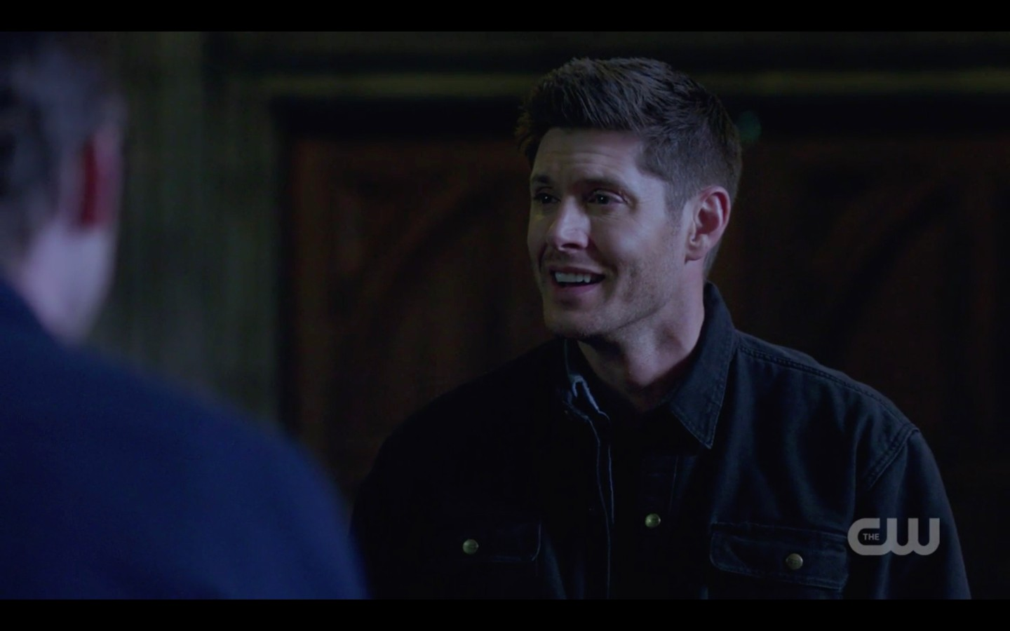 supernatural dean winchester relieved to be sam jack let the good times roll