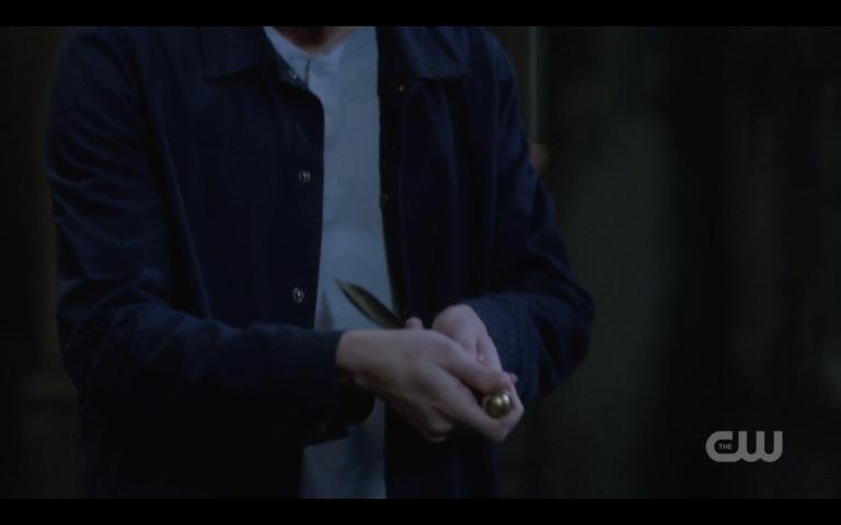 supernatural jack stabs himself with dean 2018