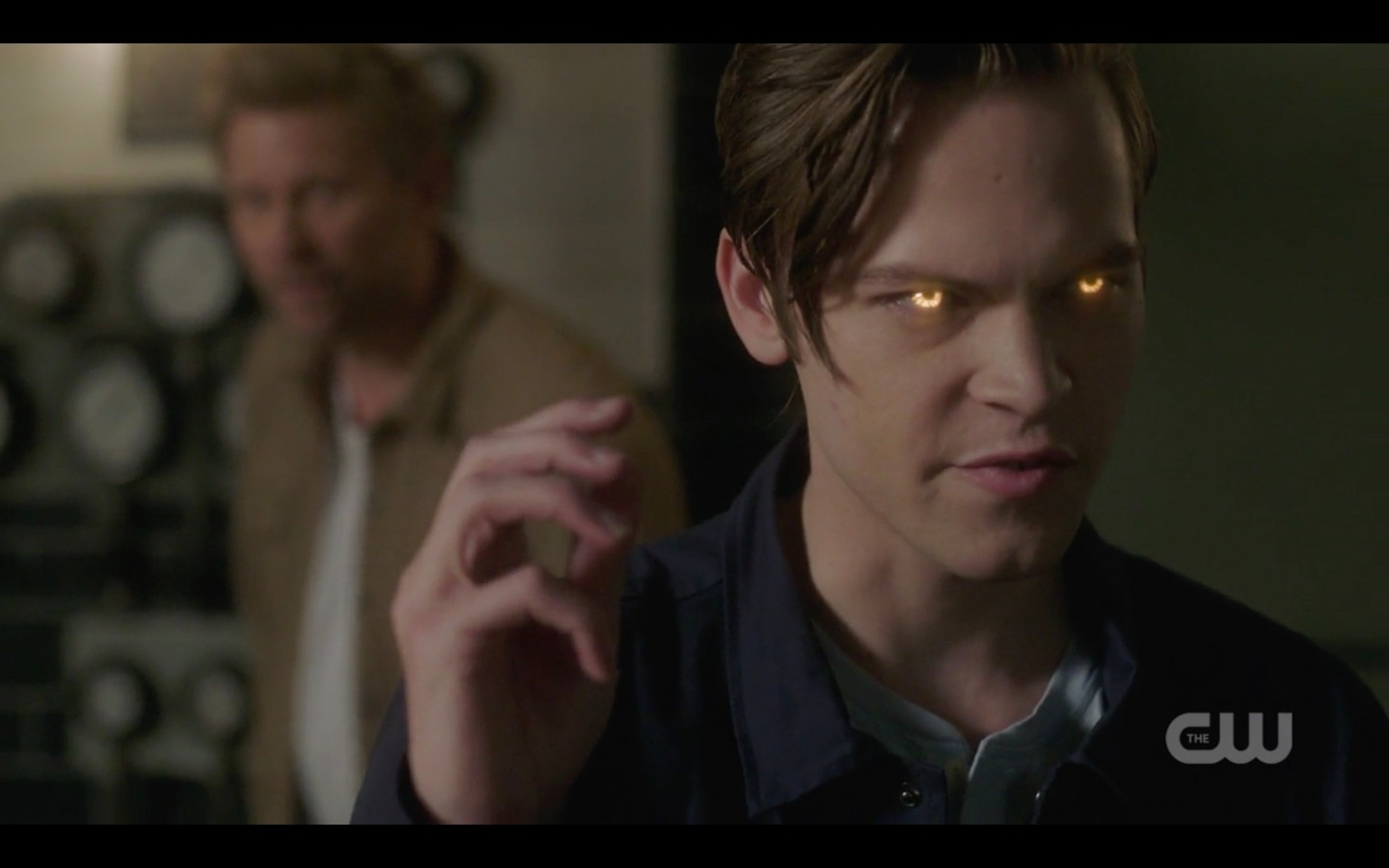supernatural lucifer watches son jack take down michael 1324