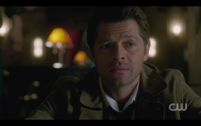 supernatural misha collins castiel devastated season 13 finale