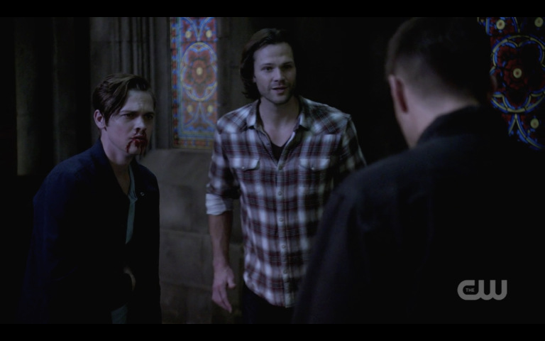 supernatural sam winchester and bloody jack with dean finale