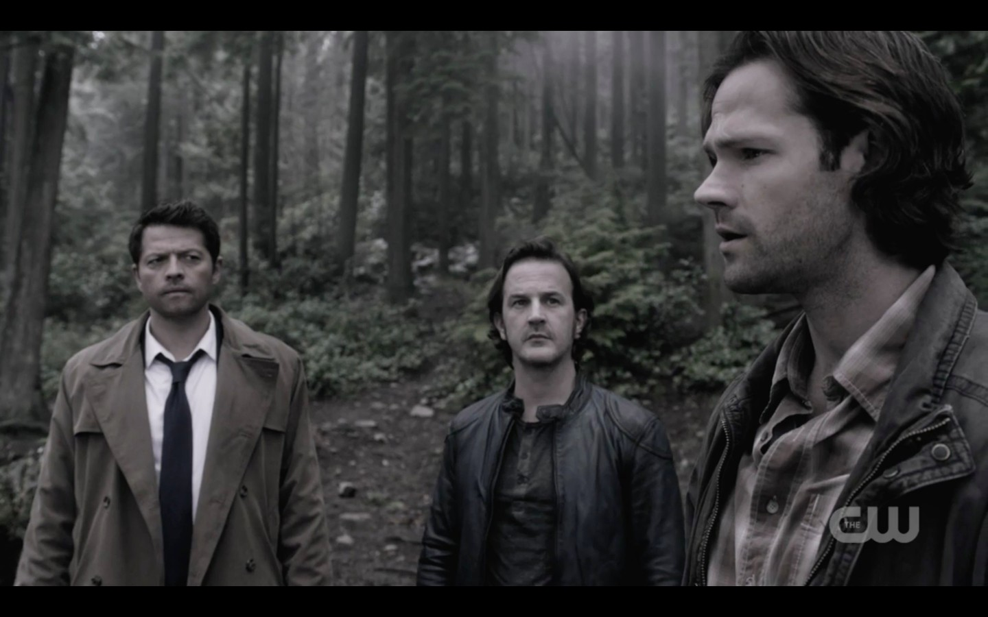 supernatural sam winchester takes castiel gabriel and dean into tunnel 1321