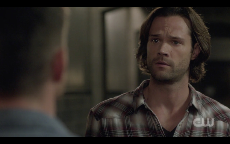 supernatural sam winchester talks matching hawaiin shirts with dean 1324