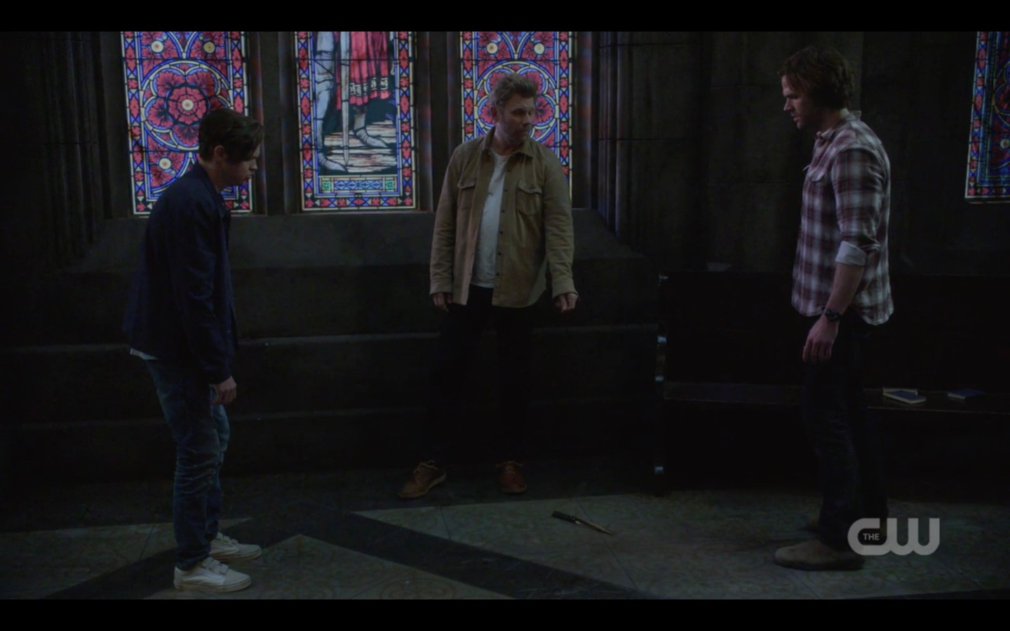 supernatural showdown jack with lucifer and sam winchester