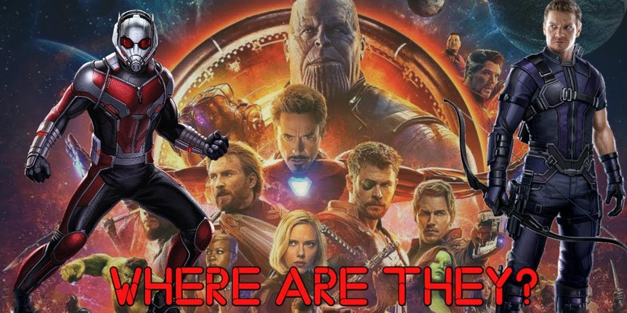 what happened to ant man and hawkeye in avengers infinity war