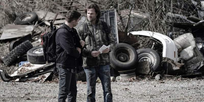 winchester brothers supernatural exodus episode images