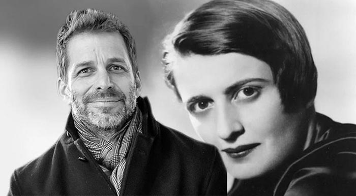 zack snyder goes from dc comics to ayn rand fountainhead
