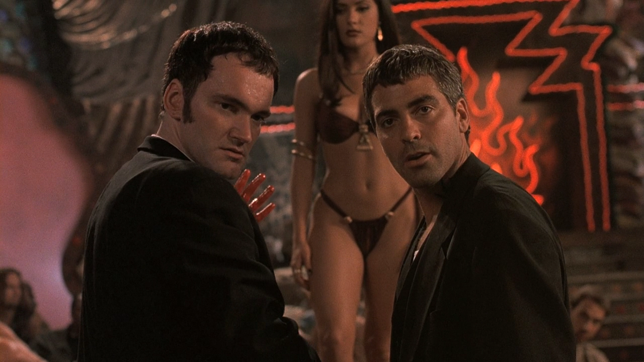 from dusk till dawn george clooney and quentin tarantino