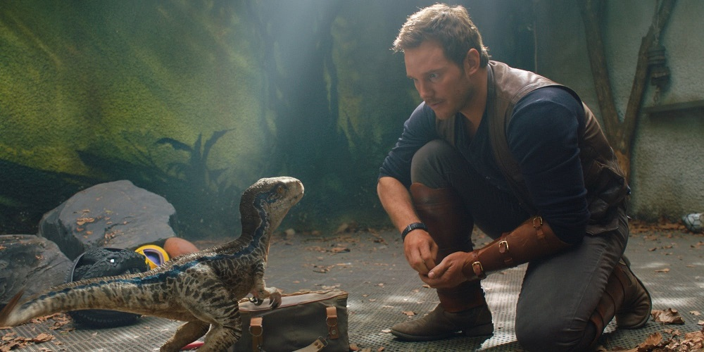 Chris Pratt stars in jurassic world fallen kingdom to fight illegal poaching
