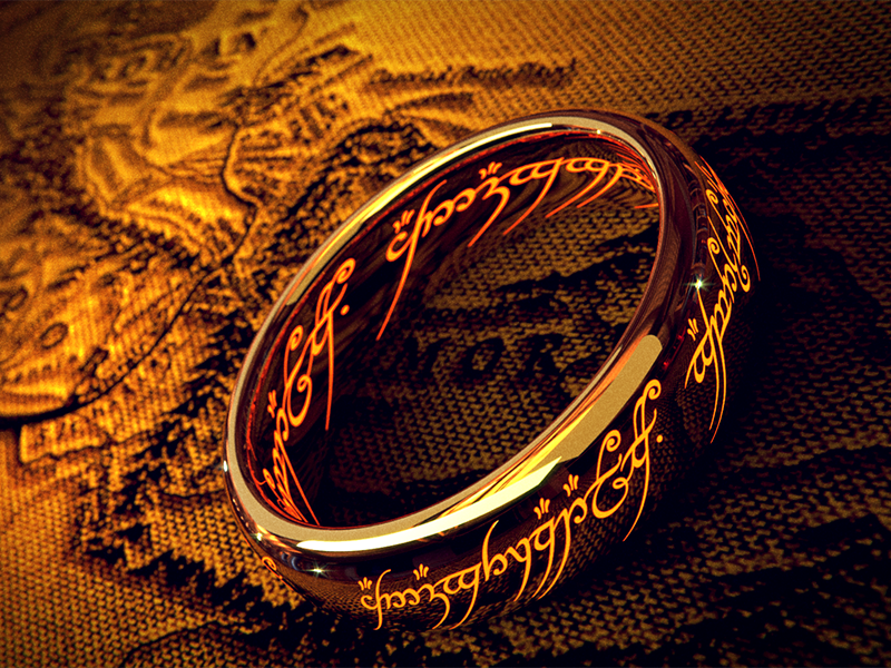 lord of the rings one ring collectible