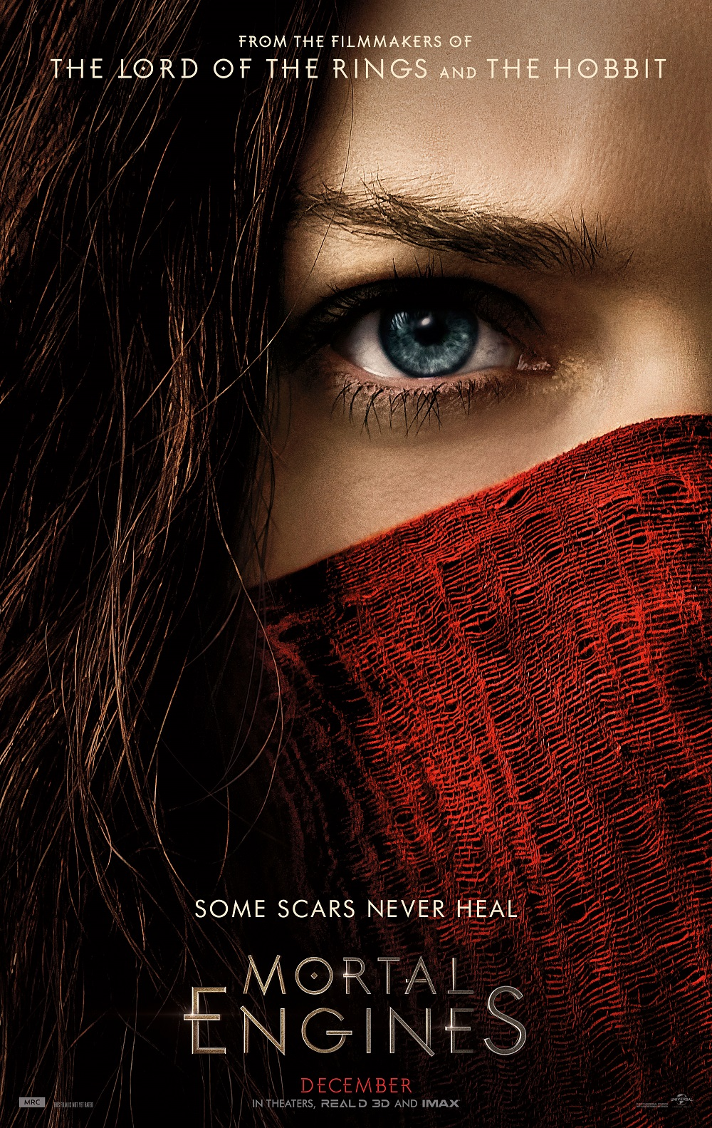 mortal engines official film poster 2018