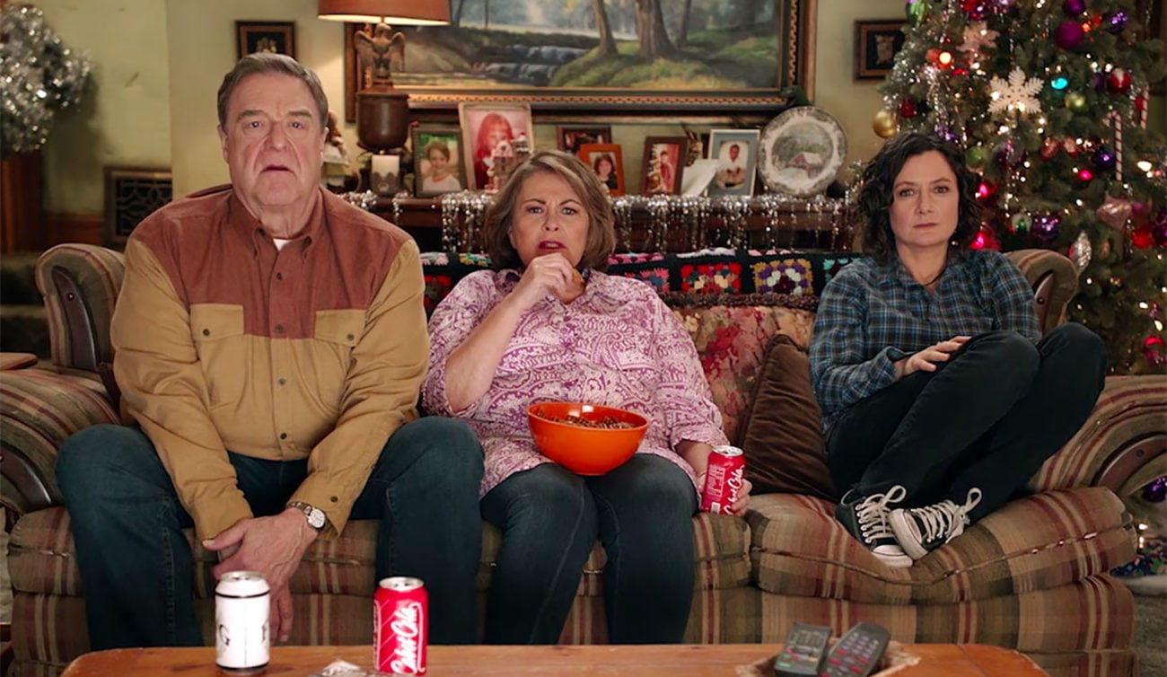 roseanne barr signs off for the connors