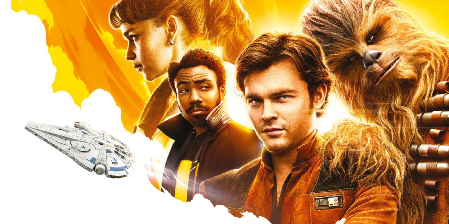 star wars solo plummets but keeps top spot at box office 2018 images