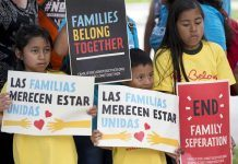 under pressure donald trump ends immigration family separation 2018 images