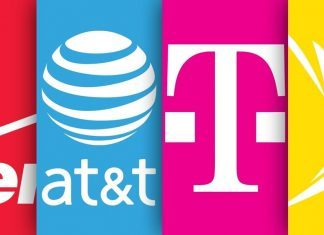 verizon att t mobile and sprint privacy pledge data brokers 2018 images