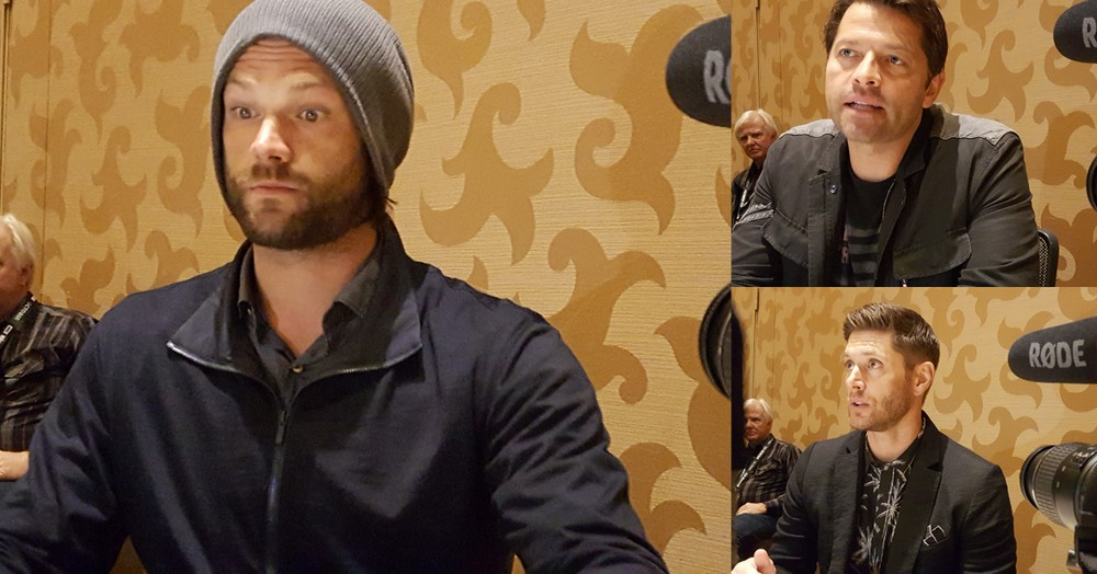Jared Padalecki Jensen Ackles Misha Collins MTTG Supernatural Interview 2018