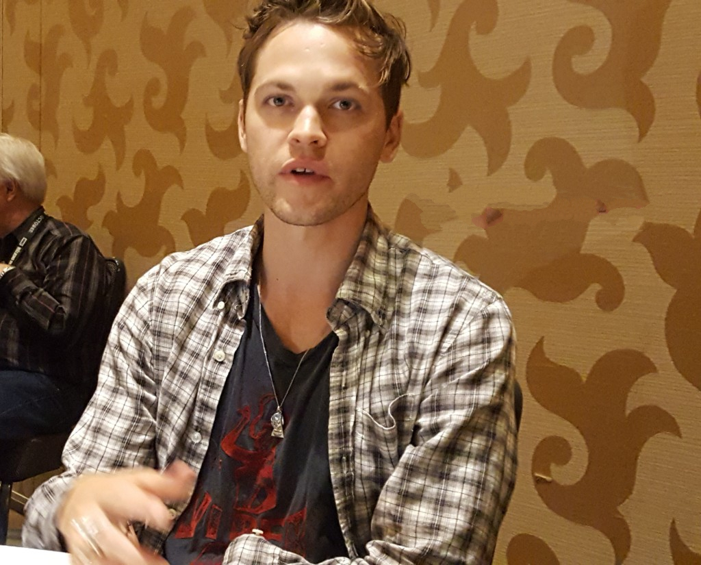 alex calvert supernatural mttg interview comic con