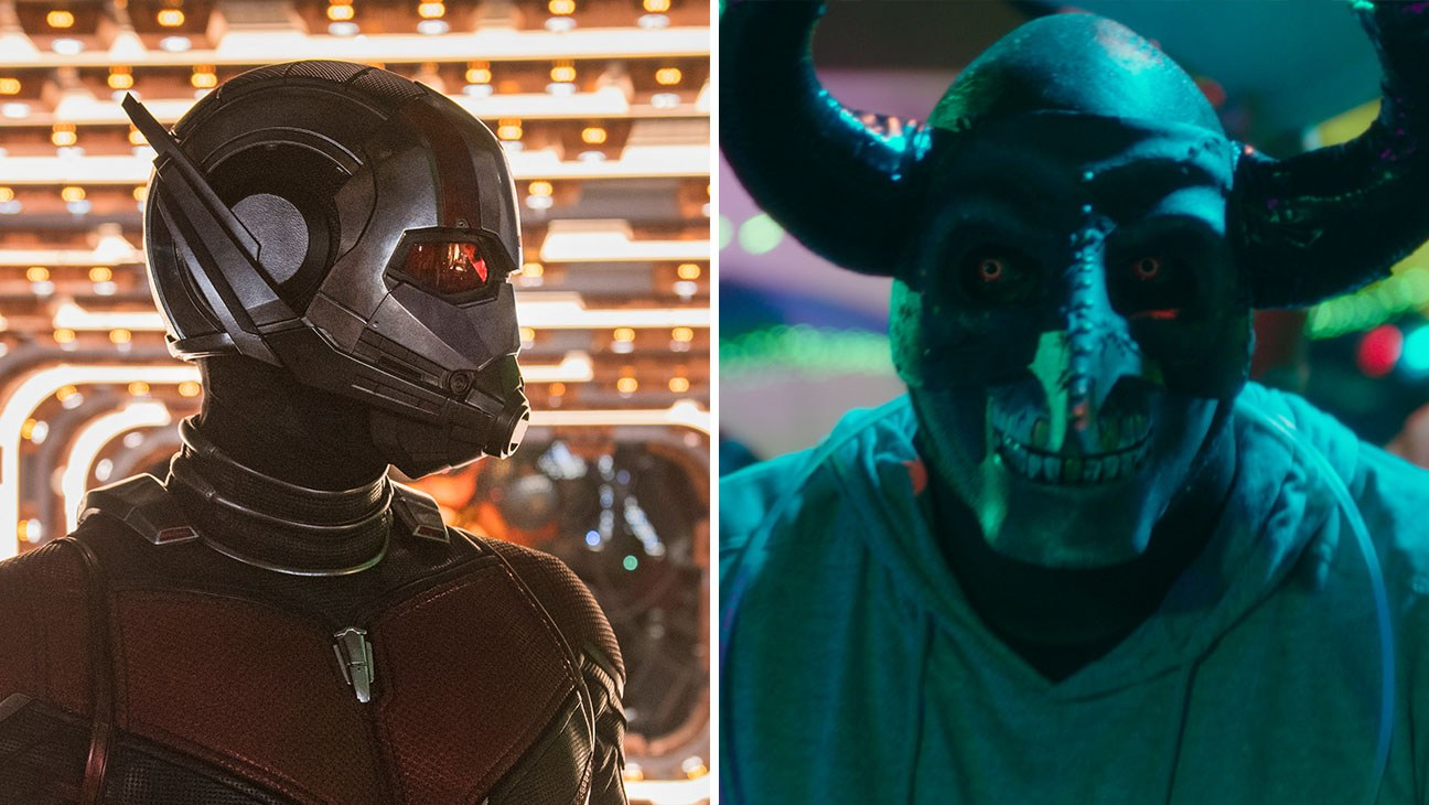ant man and the wasp vs first purge box office weekend