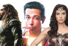 aquaman shazam wonder woman for dc comics movie slate 2018