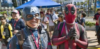 comic con 2018 friday events list with cosplay