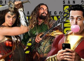 comic con brings on jason momoa and gad gadot