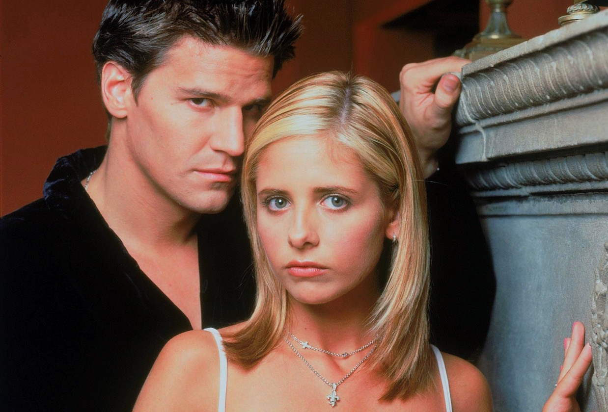 david boreanaz with sarah michelle gellar buffy vampire slayer
