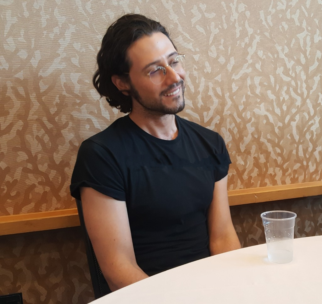 hale appleman eliot magicians smiling at mttg interview