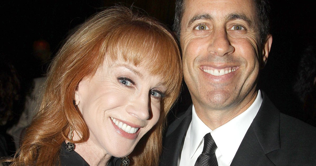 jerry seinfeld with kathy griffin