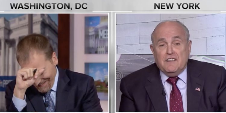 chuck todd reacts to giuliani truth