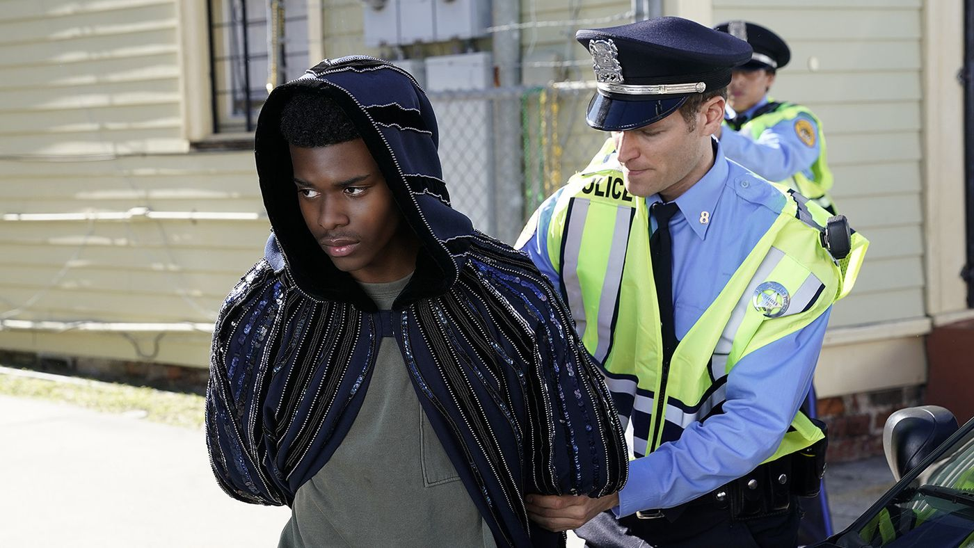 cloak and dagger tyrone arrested by police black man