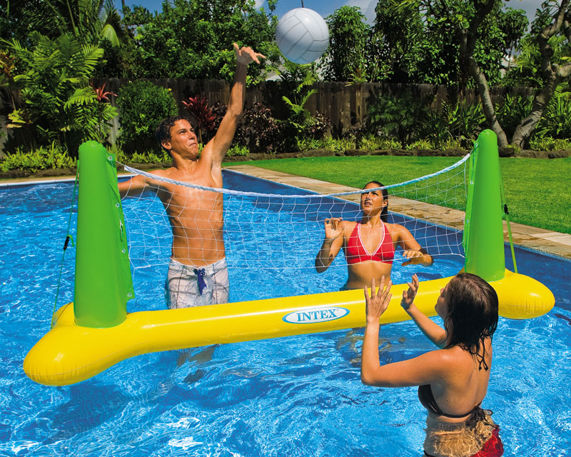 floating volleyball net images