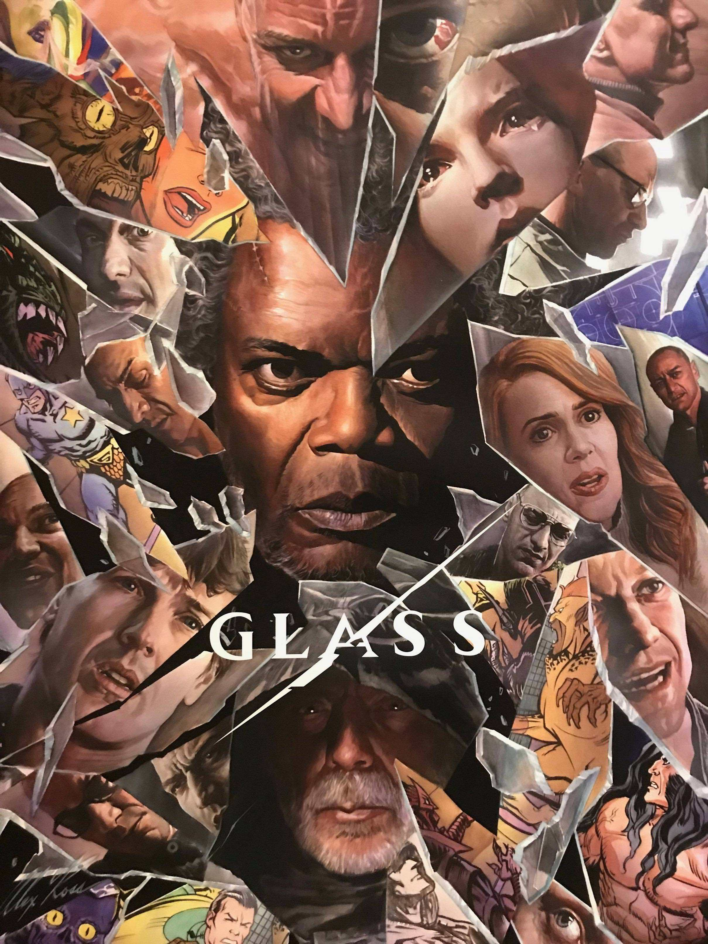 glass movie poster