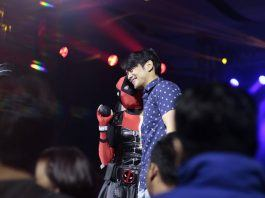 osric chau at asiapop comic con for empty by design film