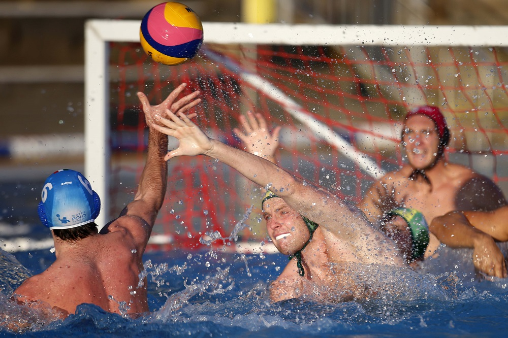 Australia Vs Italy pool water polo
