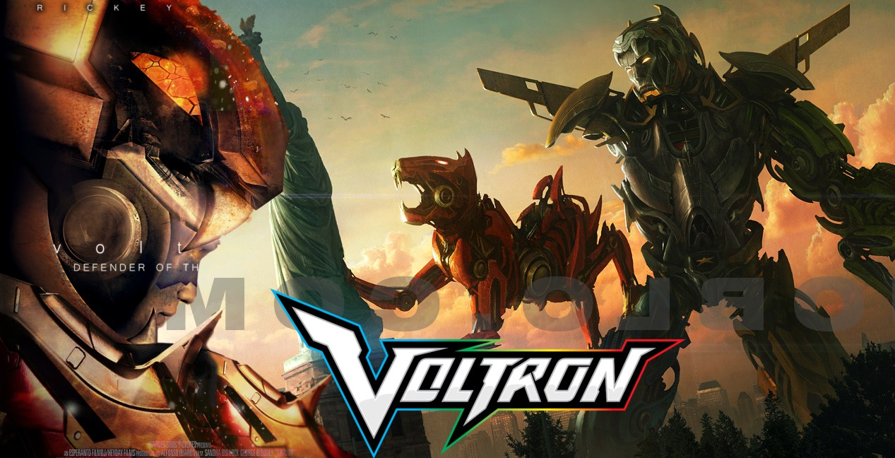 voltron movie coming