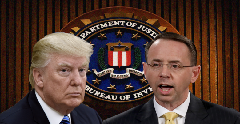 donald trump delays rob rosenstein firing