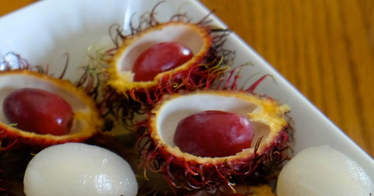 freaky rambutans halloween treats