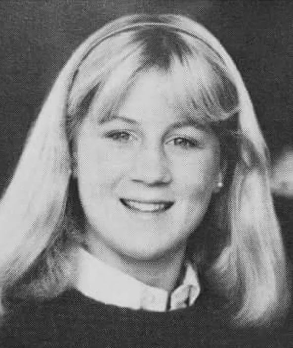 actual christine blasey ford yearbook picture 1982