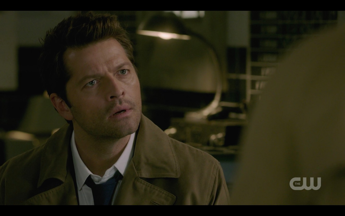 castiel getting no with jack supernatural