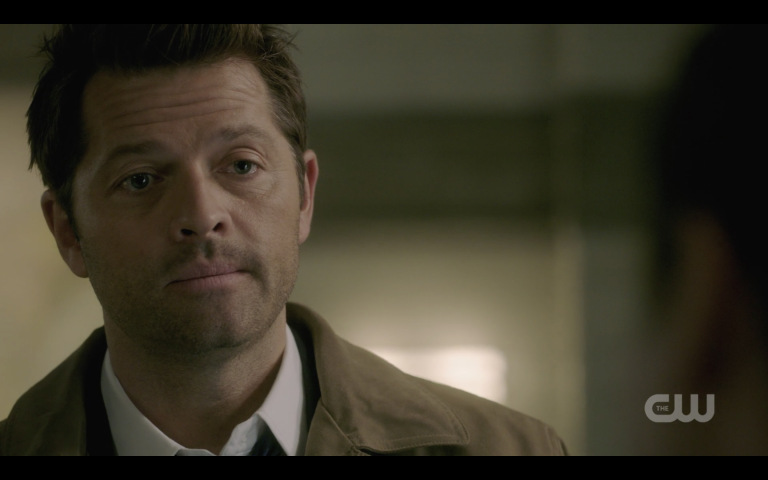 castiel responds to jack killing michael